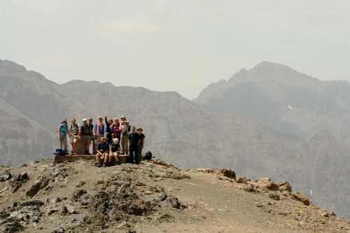 On top of Jebel Oukaimeden