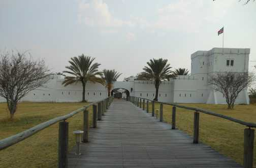 German fort in Etosha