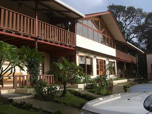Our hotel in Monteverde