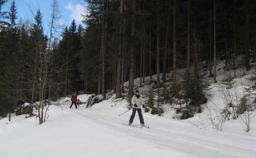 On the trail, Weissenbach