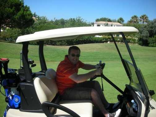 Golfing in Portugal