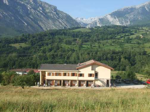 Hotel Torreceredo - our base for the week