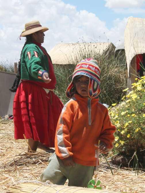 Reed Islands, Lake Titicaca