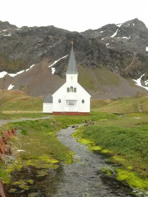 The little church at Grytviken