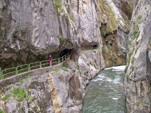 Tunnel entrance in Gorge