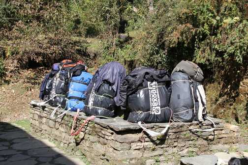 The porter's lot is not an easy one - think whether you really need all that luggage!