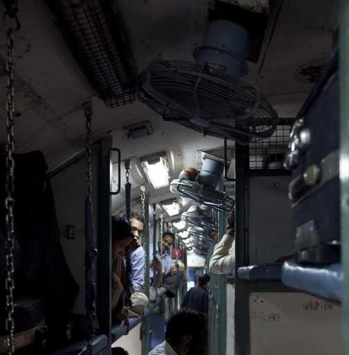 Day 2. The Train to Varanasi