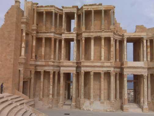 The Theatre at Sabratha