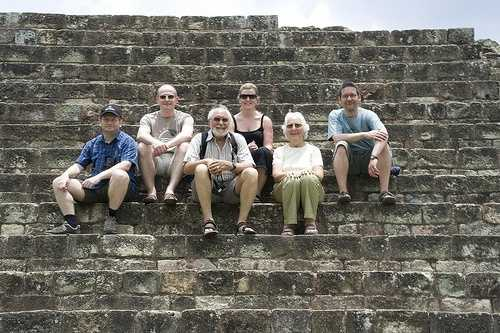 The Exodus group at Copan