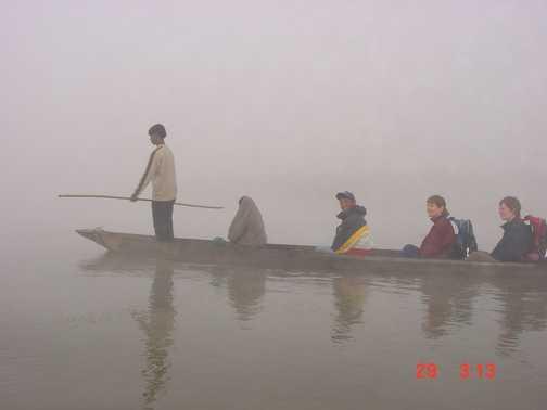 Early morning in Chitwan