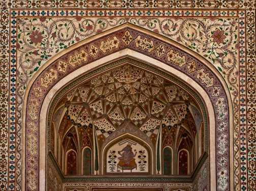 The Famous Ganesh Pol (Gate) Amber Palace, Jaipur