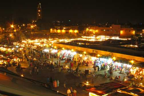 Marrakech evening