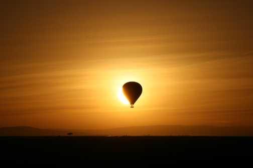 Balloon at  Sunrise