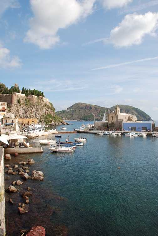 Lipari harbour