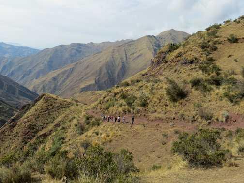 Day 2 - the big climb to 4600m