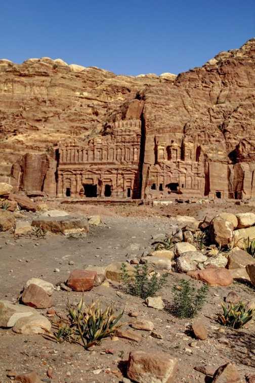 Petra - Kings' Tombs