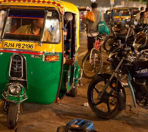 The famous and exciting Tuc Tuc, Jaipur