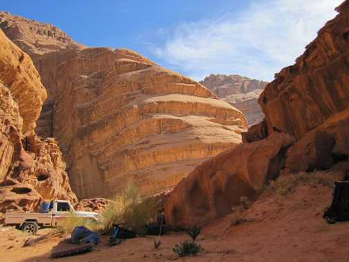Lovely colours - Wadi Rum