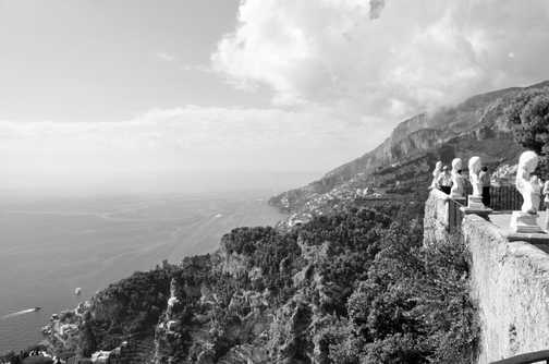 Looking down from Ravello
