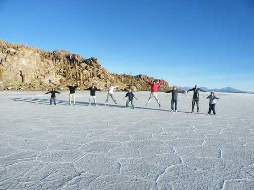 Salt Flats are so much fun!