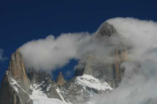 Mt Fitz Roy - walk from El Chalten