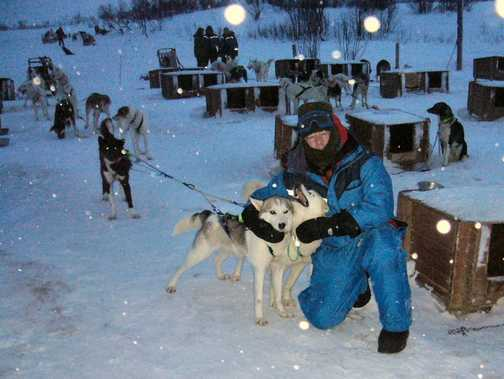 CRPK with dogsled