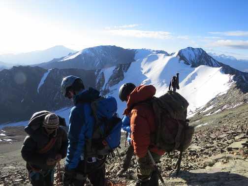 beginning the final ascent
