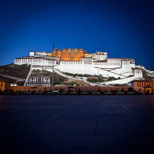 Potala Palace at night, Lhasa