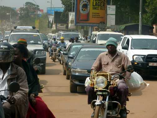 At the Equator - Uganda