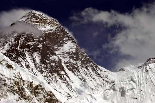 Everest and the South Col