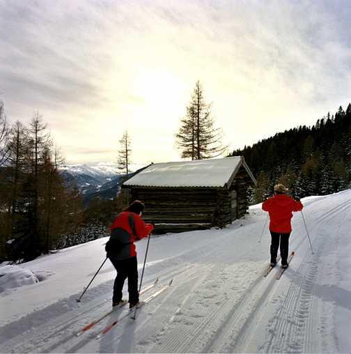 Day 4 Mariawaldrast - local skiers