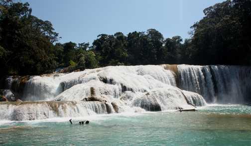 Agua Azul Falls