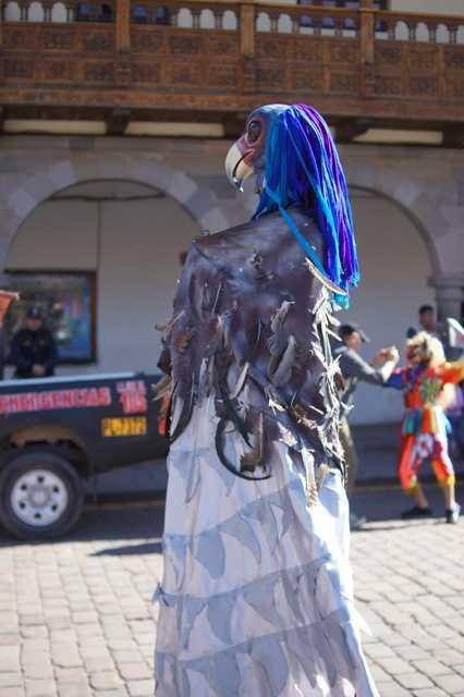 Cusco parade