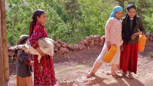 Berber girls