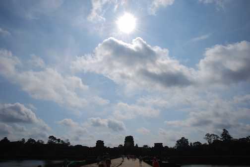 Angkor Wat Entrance
