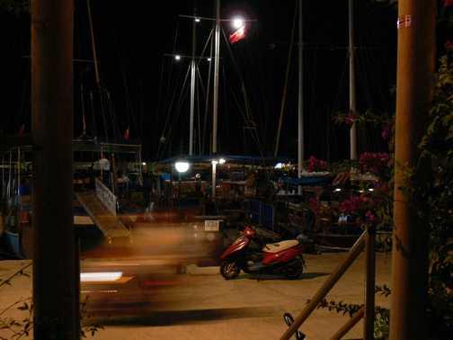 night in Kas