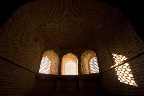 Mausoleum near the Barak-khan Madrassah in Tashkent