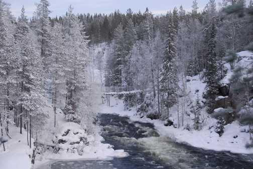 The Kitkajoki River