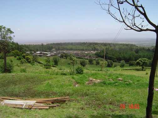 Local Housing Below Kili National Park (Rongi Route)