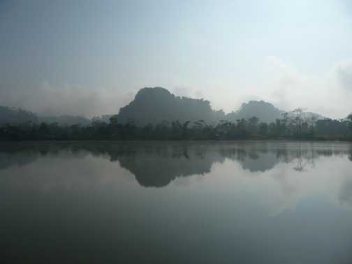Spectacular scenery in Laos