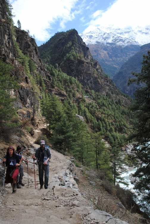 Namche to Monjo