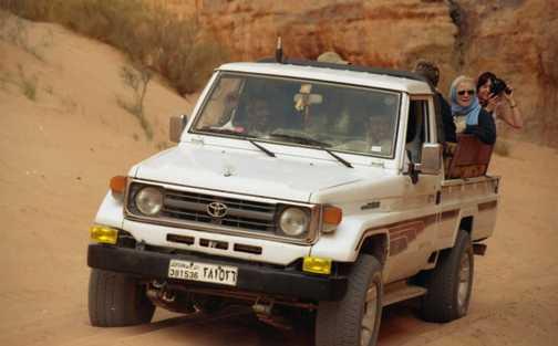Me in 4WD in Wadi Rhum