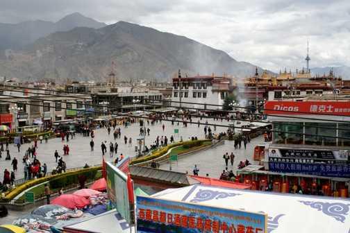 Lhasa Barkhor Square