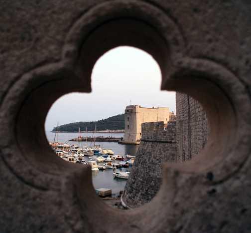 Dubrovnik town walls