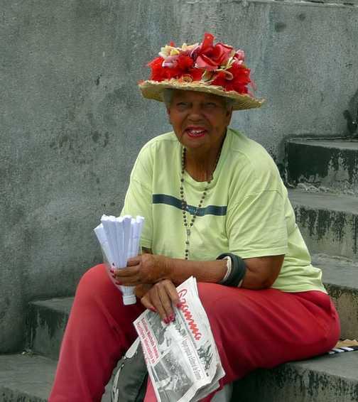 Peanut seller, Havana