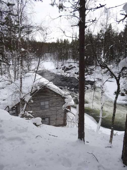 rilver  near the  mill