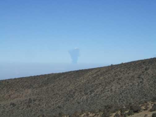 doniyo lengai erupting