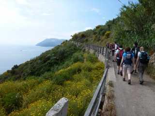 Lipari coastal walk