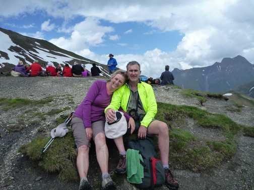 Switzerland to Italy over Grand Col Ferret