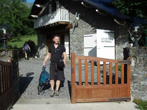 La Ferniere chalet. About 8km out of Luchon